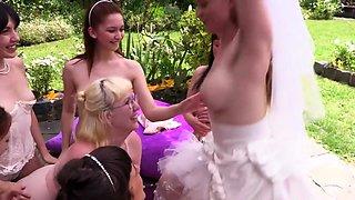 Lesbian aussie bride