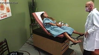Indian doctor's office sex video