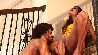 My Latina ex-wife fucks me while her new husband is at work