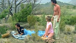 Incredible amateur French, Group Sex sex clip