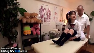 japanese schoolgirl massage goes wrong part 1