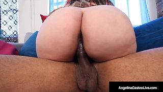 Angelina Castro Gets Her Big Boobs & Plump Pussy Mega Fucked