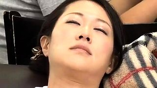 Creamy Japanese pussy fucked in hardcore video