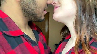 Indian couple kissing ( very hot kissing seen by Indian)