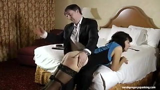 Naughty wife punished