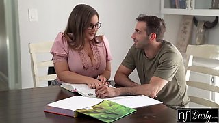 Natasha Nice And Jake Adams - Tutor Says I Would Do Anything To Get This Job S12:e9