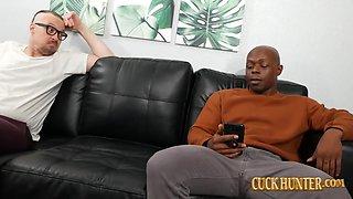 Cuck Likes Seeing Big Black Dick In His Girlfriend