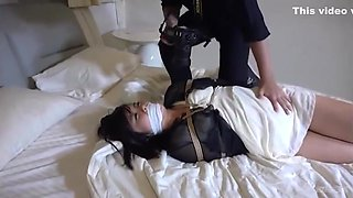 Incredible sex movie Hogtied only here