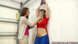 Superheroine Wonder Woman Turned Into Lesbian Sex Slave
