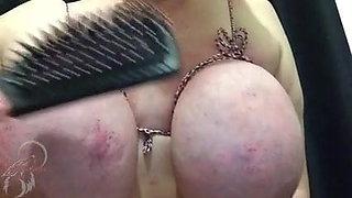 BBW Sub Slut Jenni - Bound Udders Punishment
