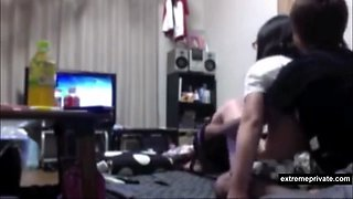 slutty Mexican sister 18 spied by her brother