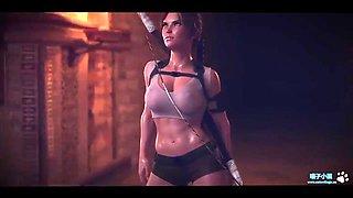 Lara croft animation