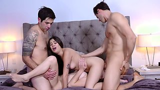 Foursome Banging Last Night with Cielo and Kourtney
