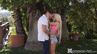 Horny spinner with small tits Kenzie Reeves loves a good fuck from behind