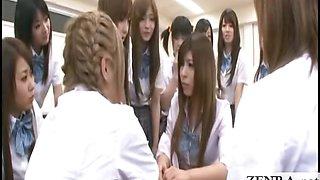 Subtitles Japan schoolgirl mistakenly nude in school