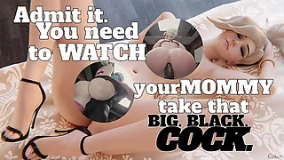 Blacked waifu - Mommy mercy