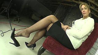 Watch My Nylon Shoeplay