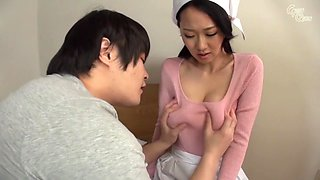 Incredible Japanese girl Sayuki Kanno in Crazy babysitters, handjobs JAV scene