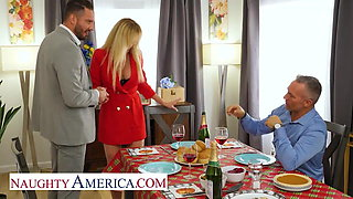 Naughty America - Bombshell Brandi Love is thankful