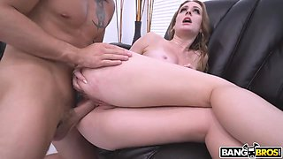 Miss appetizing ass Daisy Stone gets her pussy and anus rammed