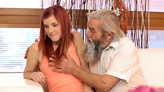 Old mature bondage Unexpected experience with an older gentl
