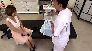 Japanese Femdom Massage Facesitting Feet Fetish with Oil