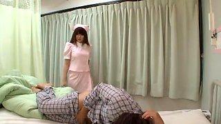 Hundred Flower Nishina Nursing Mugyumugyu Slave Big Nurse