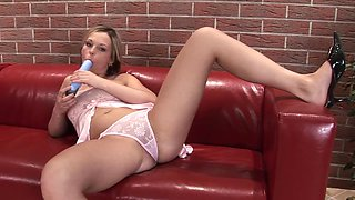 She Caught With Vibrator Gets Fucked