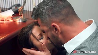 Sexy Milf Alexis Fawx Gets Anally Punished By Her Boss