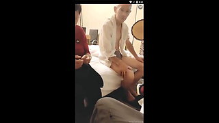 Chinese Granny Gets Fucked Hard On Film For Money