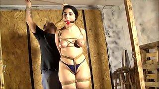 Big Tits Bondage slavegirl