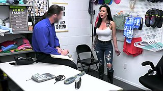 Bad Ass MILF Lily Lane is so agitated and got FUCKED