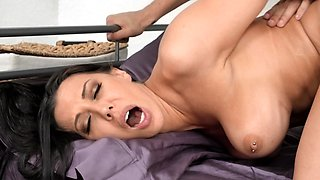 Friend's stepmom crave young dick so why lucky guy satisfied her