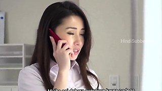 Affair with my boss, hindi subbed video JAV
