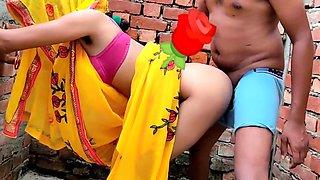 Babita-x-singh Ghar Ke Bahar Outdoor Sex In Saree Indian Sex