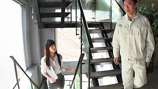 Amazing Japanese model Jin Yuki in Incredible rimming, cougar JAV movie