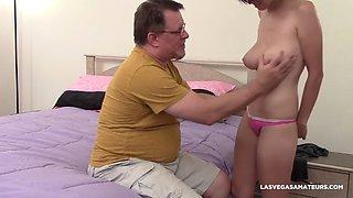 Stepdads favourite big tit daughter