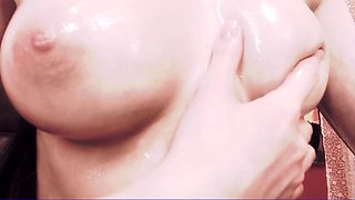 Astonishing camgirl reveals the perfect contours of her body