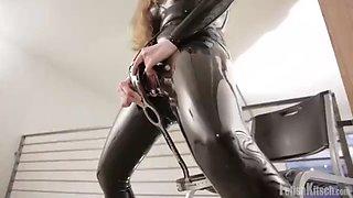 Latex chastity