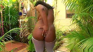Best pornstar Keita Eden in incredible black and ebony, lingerie sex video