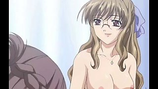 Hot threesome in seduction lessons hentai porn