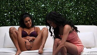 2 of THE Hottest Amateur Exotic Chicks on Casting!