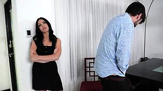 I cum inside my girlfriend angry mom