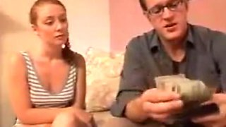 STP1 Innocent Skinny college girl Gets A Good Hard  Lesson !