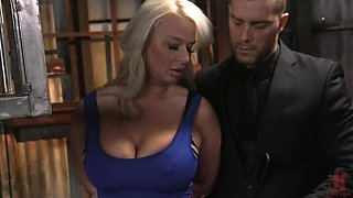 The Dinner Party: Cheating Wife London River Gets Anally Creampied