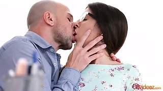 Katty West - Assfucked By Her College Tutor