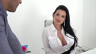 Big Booty Secretary Aletta Ocean And Her New Big Boss