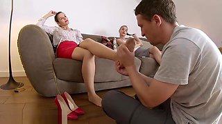 Astonishing adult scene Brunette exclusive , watch it