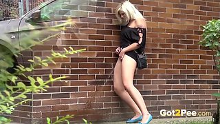 A Real Pearl In Collection Of Public Pissing Fetish Porn