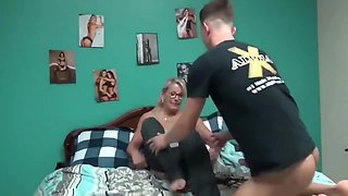 Sexy Mature Woman Loves Riding Teens Cock